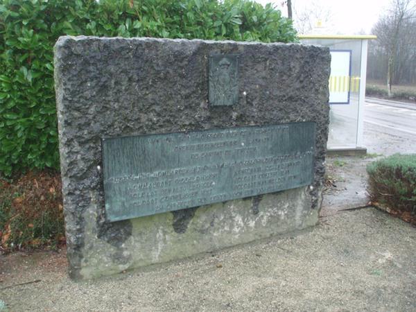 Gedenksteen bombardement 10 mei 1940