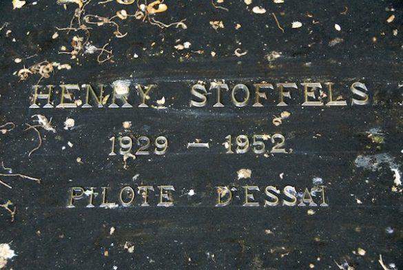 Graf Sgt Vlieger (moniteur) Henri Stoffels, Spitfire SG68