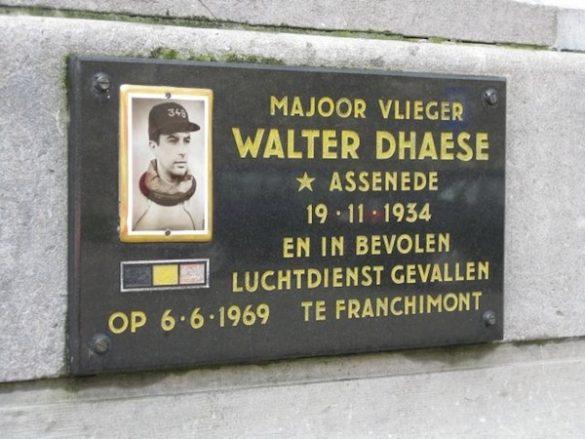 Majoor Vl Walter Dhaese  F-104G FX55