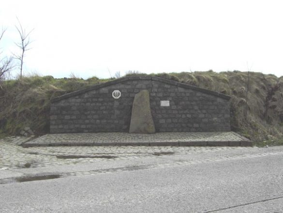 Monument S/Sgt Parramore B-24D 42-72876 RR-E