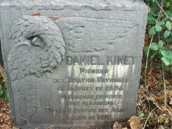 Gedenksteen Daniel Kinet