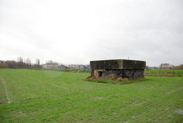 Bunker hulpvliegveld WOII