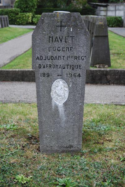 Graf Adjt Eugene Navet, geen piloot