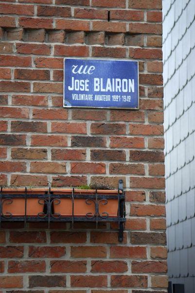 Straatnaam José Blairon