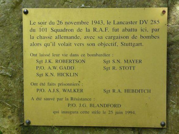 Monument Lancaster DV285