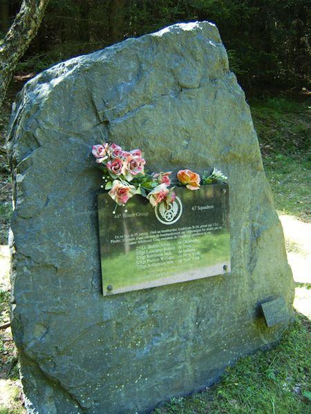 Monument voor bemanning B-24H 42-7547