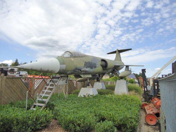 Lockheed F-104G Starfighter blikvanger