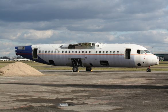 Fire and Rescue Training, BAe 146-200 OO-DJE