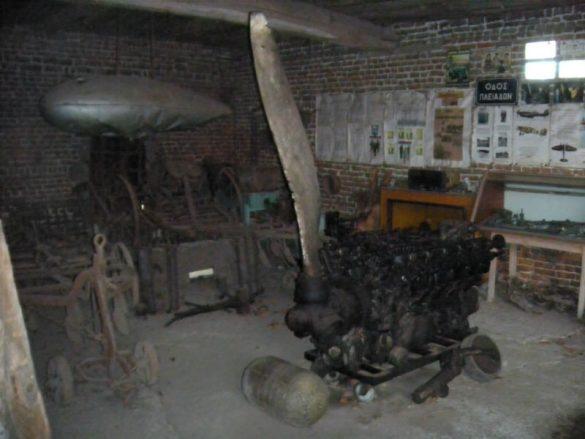Museumhoeve met Jumo-motor, Marcq