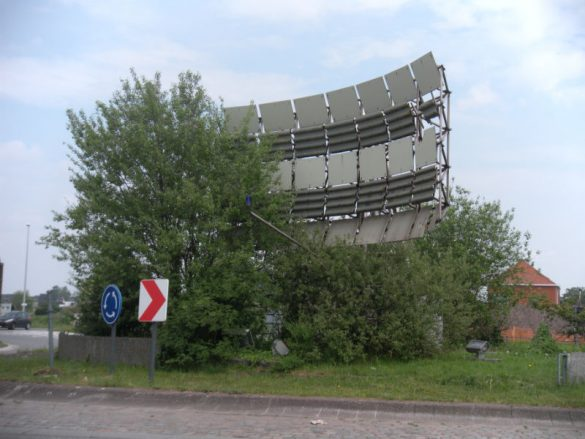 Nagebouwde radar, Willebroek