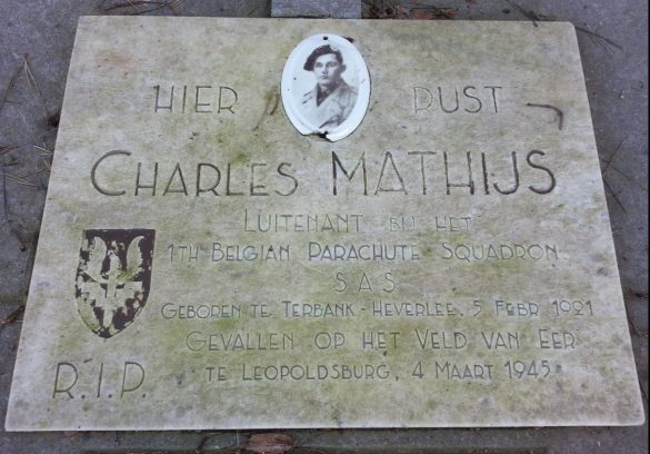 Graf Luitenant Charles Mathijs S.A.S.