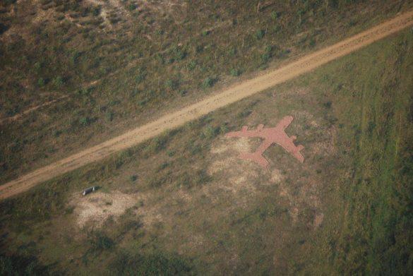 Overblijfselen vliegveld Beerse