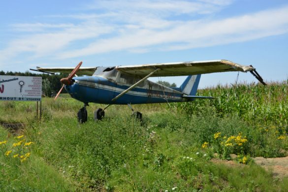Blikvanger Cessna 172A PH-MVB