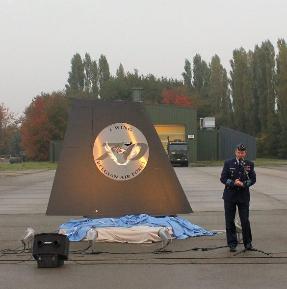 Monument 70 jaar Belgische Luchtmacht, 70 jaar luchtmachtbasis Beauvechain