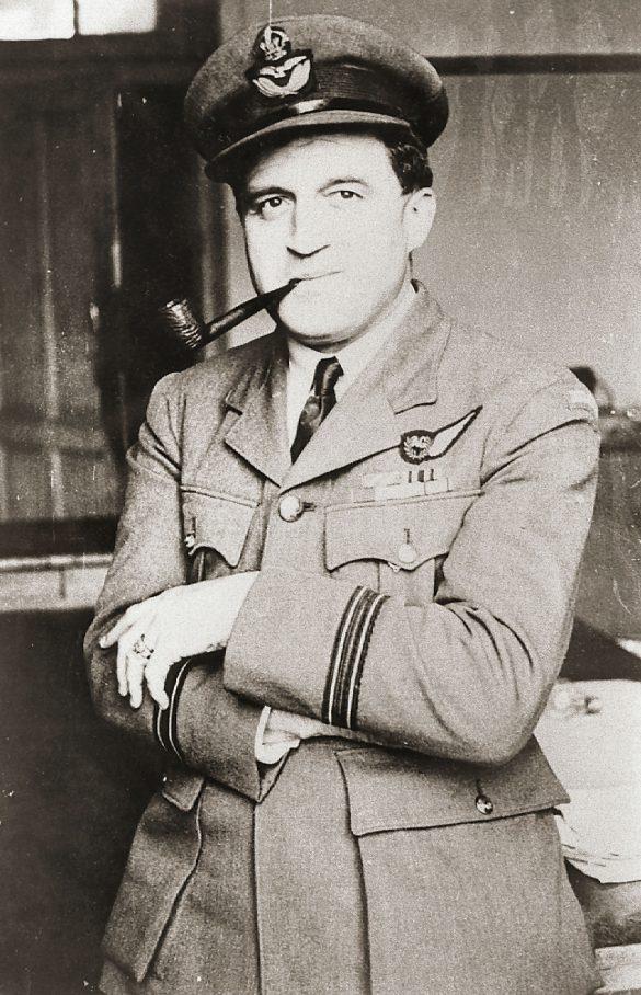 Graf RAF Tail gunner Georges Bechoux