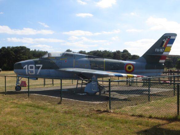 Republic F-84F Thunderstreak FU-197