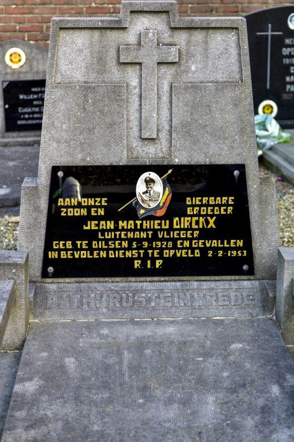 Graf Luitenant Vlieger Jean-Mathieu Dirckx