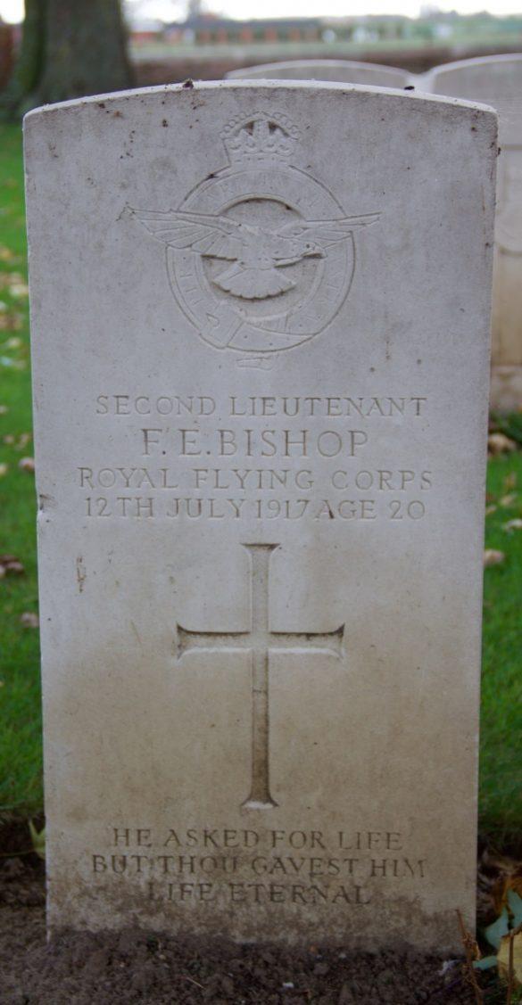 Graven Britse en Duitse bemanningen WO1