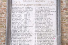 20 Bruggel Gedenkplaat JWillems.jpg|20 Brugge2 Gedenkplaat JWillems.jpg|20 Brugge3 Gedenkplaat JWillems.jpg