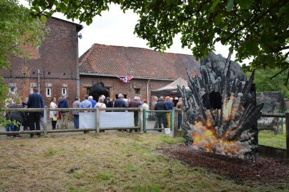 Monument ter herinnering aan het bombardement van 22 mei 1944