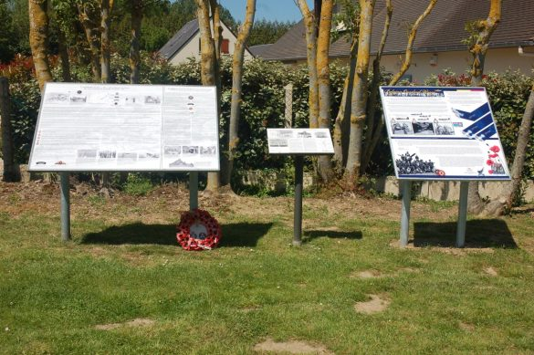 Gedenkteken Belgian Overlord Wings 1944