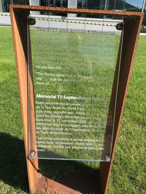 9/11 en Article 5 Memorial