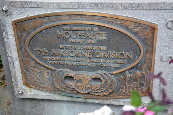 Gedenkplaat voor de 17th Airborne Division
