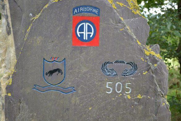Monument gesneuvelden 505th Parachute Infantry Regiment