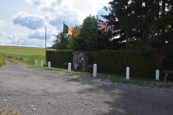 Croix Renkin, gedenkteken voor drie gesneuvelde Belgische SAS