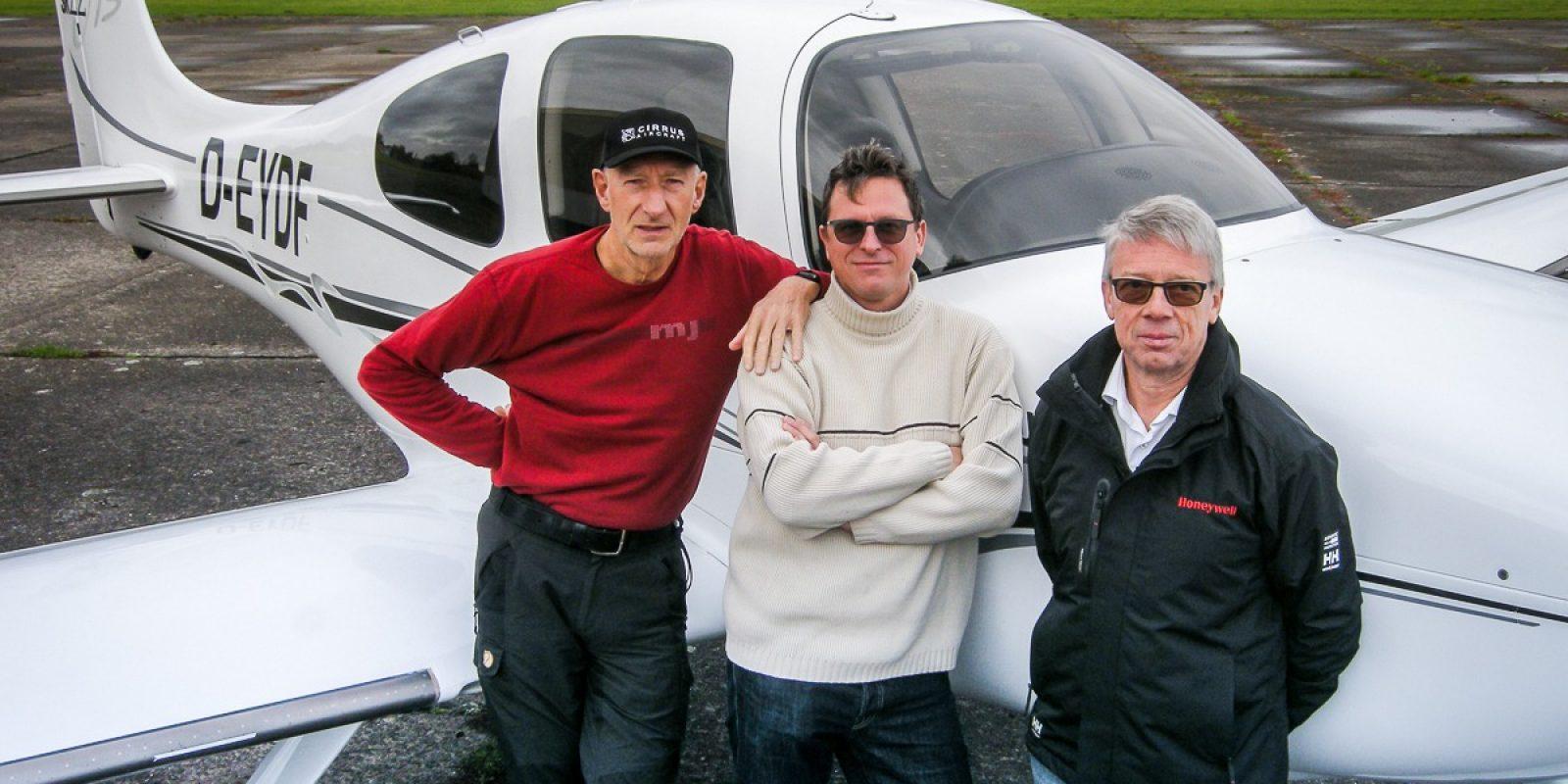 Co-owners (vlnr) Frank, Dimitri en Yves laten zich graag een triumviraat noemen, drie gelijkwaardige eigenaars voor hun passie.