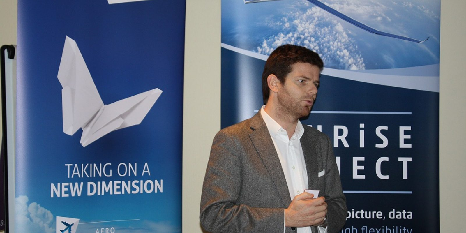 Benjamin de Broqueville, CEO de l'aérodrome de Namur et de Stemme Belgium présente le bilan et les projets de l'aérodrome.
