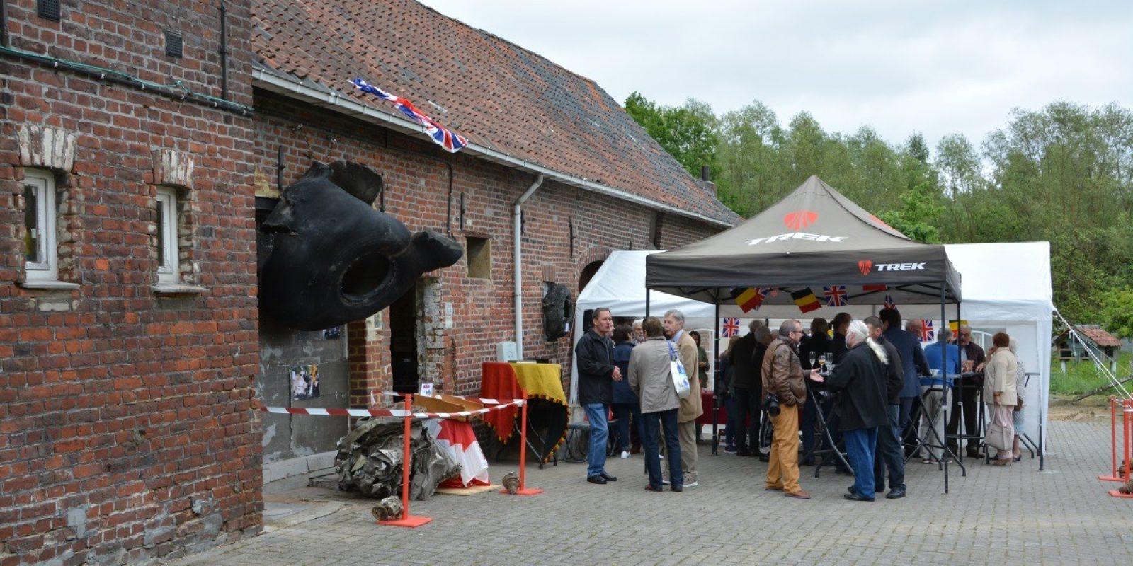 Heel wat geïnteresseerden waren opgedaagd voor de opening van het museum.